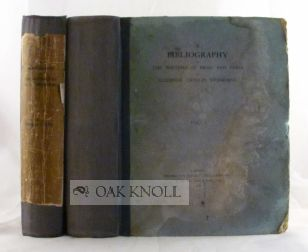 A BIBLIOGRAPHY OF THE WRITINGS IN PROSE AND VERSE OF ALGERNON CHARLES SWINBURNE. Thomas J. Wise.