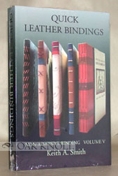 QUICK LEATHER BINDING. Keith A. Smith.