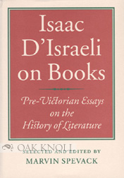 isaac d i on books pre victorian essays on the history of  more