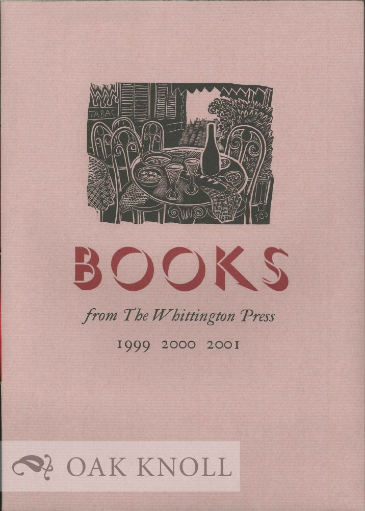 BOOKS FROM THE WHITTINGTON PRESS, 1985
