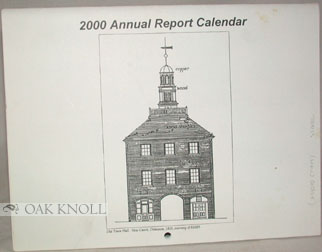 CITY OF NEW CASTLE, 1999 ANNUAL REPORT CALENDAR
