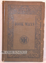 BOOK WAYS. Edith Kimpton.