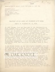 TREATMENT OF OLD BOOKS AND DOCUMENTS WITH REGNAL. Curtis B. Hayworth.