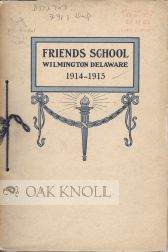 FRIENDS SCHOOL, CATALOGUE.