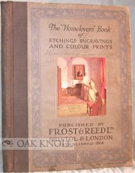 "THE "" HOMELOVERS"" BOOK OF ETCHINGS ENGRAVINGS AND COLOR PRINTS."