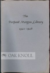 THE PIERPONT MORGAN LIBRARY.