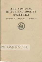 """ NINETY MORE YEARS OF THE SOCIETY'S HISTORY."" R. W. G. Vail."