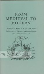 FROM MEDIEVAL TO MODERN. John Dillon, preface.