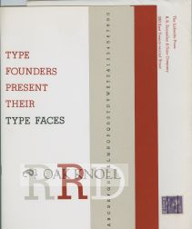 TYPE FOUNDERS PRESENT THEIR TYPE FACES