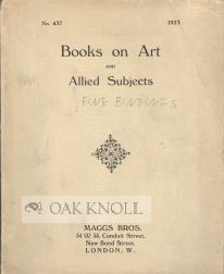 BOOKS ON ART AND ALLIED SUBJECTS. 437.