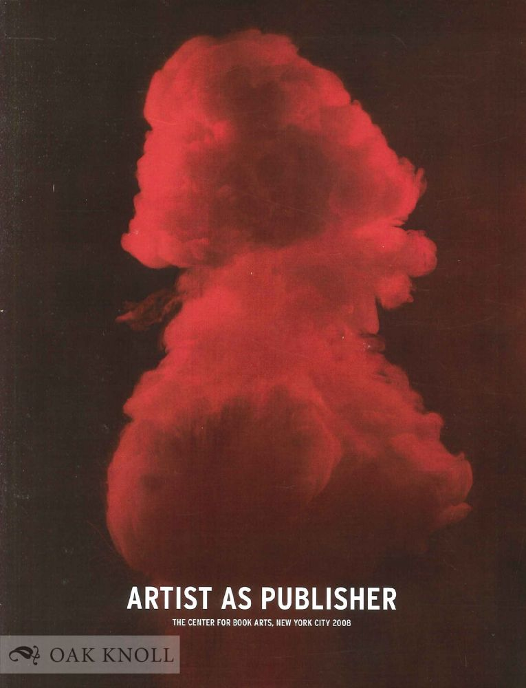 ARTIST AS PUBLISHER