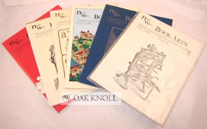 NORTH WEST BOOK ARTS, A BIMONTHLY JOURNAL OF THE BOOK ARTS IN THE PACIFIC NORTHWEST.