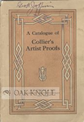 A CATALOGUE OF COLLIER'S ARTIST PROOFS.
