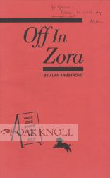 OFF IN ZORA. Alan Armstrong.