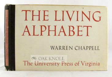 THE LIVING ALPHABET. Warren Chappell.