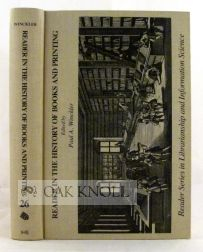 READER IN THE HISTORY OF BOOKS AND PRINTING. Paul A. Winckler.