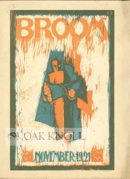 BROOM, AN INTERNATIONAL MAGAZINE OF THE ARTS PUBLISHED BY AMERICANS IN ITALY.