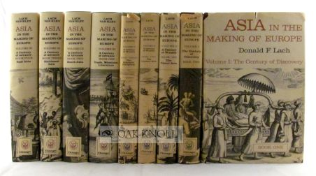 ASIA, IN THE MAKING OF EUROPE, VOLUME I-9. Donald F. Lach.