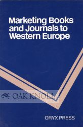 MARKETING BOOKS AND JOURNALS TO WESTERN EUROPE. Pamela Spence Richards.