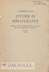 OBSERVATIONS ON THE INCIDENCE AND INTERPRETATION OF PRESS FIGURES. William B. Todd.