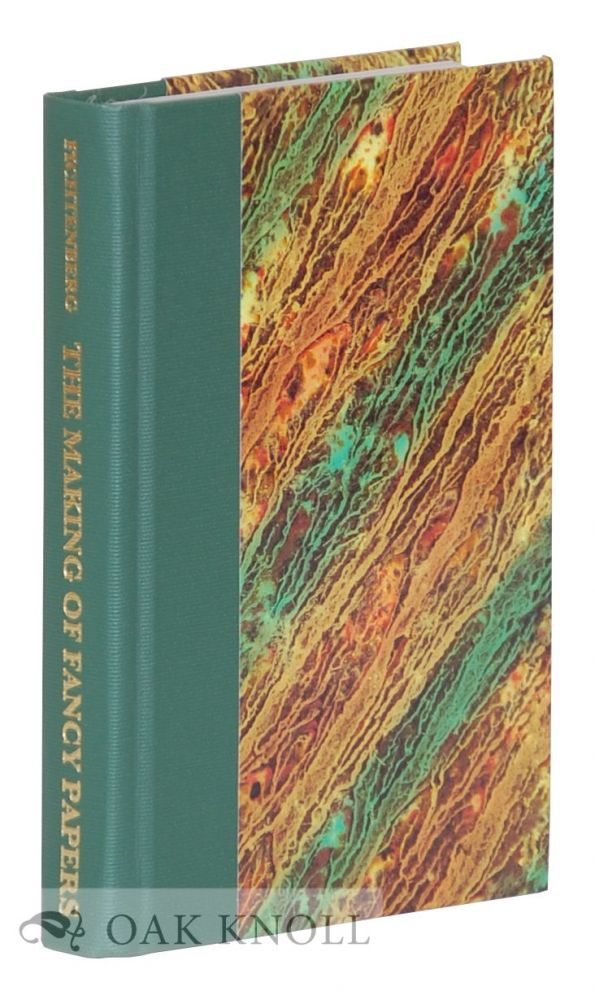 NEW AND COMPLETE MANUAL ON THE MAKING OF FANCY PAPERS BY M. FICHTENBERG. M. Fichtenberg.