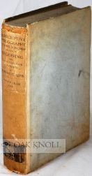 A DESCRIPTIVE BIBLIOGRAPHY OF THE MOST IMPORTANT BOOKS IN THE ENGLISH LANGUAGE RELATING TO THE ART & HISTORY OF ENGRAVING AND THE COLLECTING OF PRINTS. Howard C. Levis.