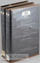 A CATALOGUE OF LATIN AMERICAN FLAT MAPS 1926-1964, Palmyra V. M. Montero, Donald D. Brand.