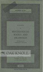 CATALOGUE OF MYCOLOGICAL BOOKS AND DRAWINGS THE PROPERTY OF COMMANDER A. FOUNTAINE.