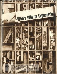 WHO'S WHO IN TYPESETTING.
