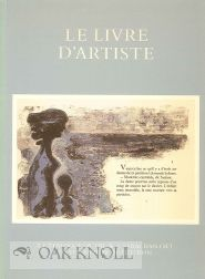 LE LIVRE D'ARTISTE: A CATALOGUE OF THE W.J. STRACHEN GIFT TO THE TAYLOR INSTITUTION.
