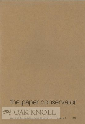 THE PAPER CONSERVATOR.