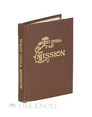 WEST INDIA MISSION.