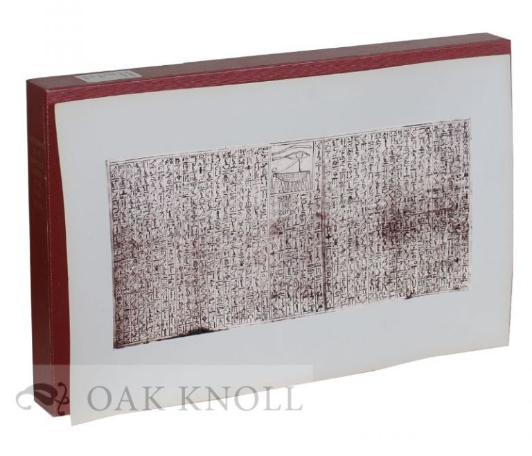 PHOTOGRAPHS OF THE PAPYRUS OF NEBSENI IN THE BRITISH MUSEUM.