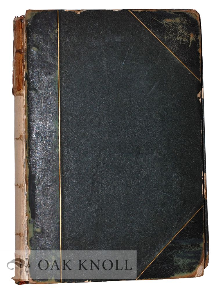 Volume containing the 140 steel-plate engravings used for the British Annual entitled The Keepsake.