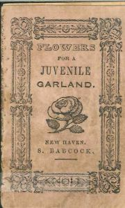 FLOWERS FOR A JUVENILE GARLAND.