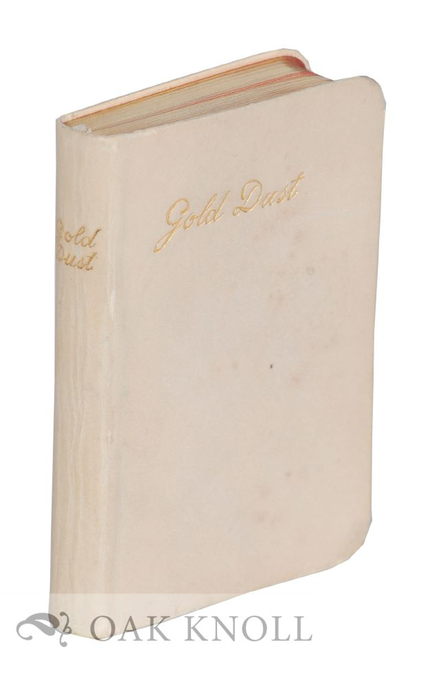 GOLD DUST: A COLLECTION OF GOLDEN COUNSELS FOR THE SANCTIFICATION OF DAILY LIFE. E L. E. R.