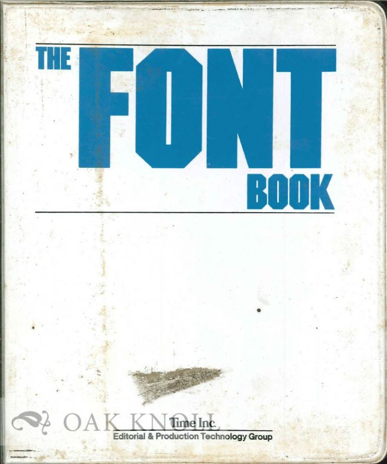 THE FONT BOOK. Time.