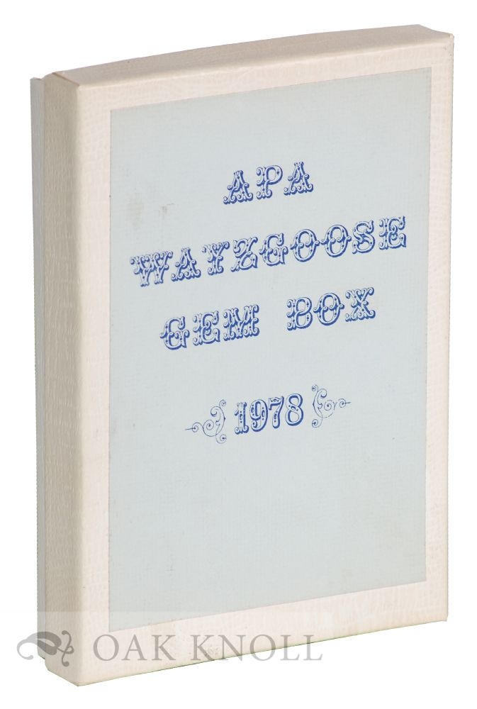 APA WAYZGOOSE GEM BOX.