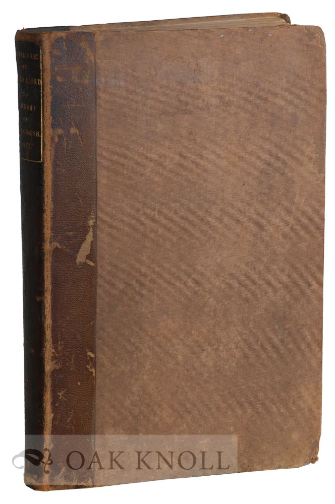 CATALOGUE OF BOOKS ADDED TO THE LIBRARY OF CONGRESS FROM DECEMBER 1, 1866 TO DECEMBER 1, 1867.