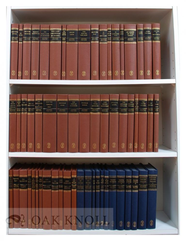 THE WORKS OF ANTHONY TROLLOPE. Anthony Trollope.