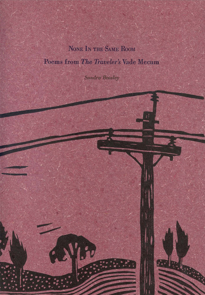 NONE IN THE SAME ROOM: POEMS FROM THE TRAVELER'S VADE MECUM. Sandra Beasley.