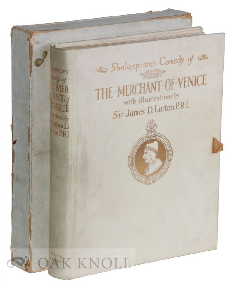 SHAKESPEARE'S COMEDY OF THE MERCHANT OF VENICE. William Shakespeare.