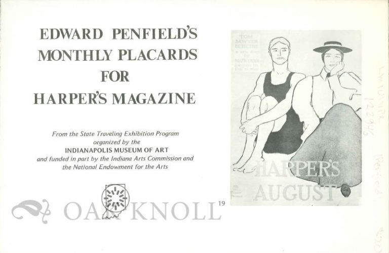 EDWARD PENFIELD'S MONTHLY PLACARDS FOR HARPER'S MAGAZINE.