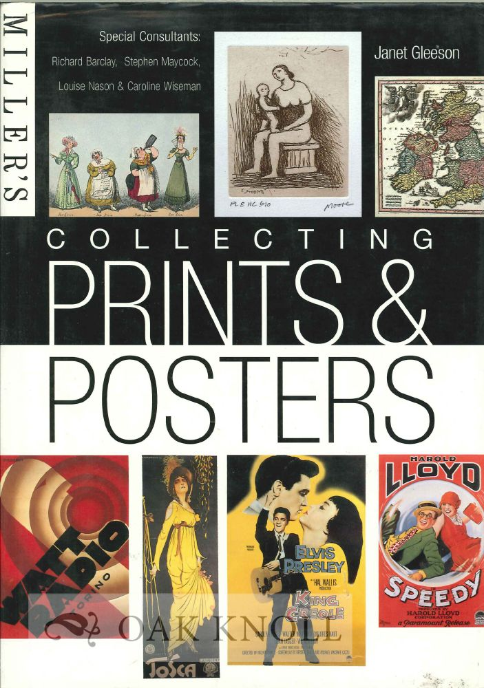 MILLER'S COLLECTING PRINTS & POSTERS. Janet Gleeson, compiler.