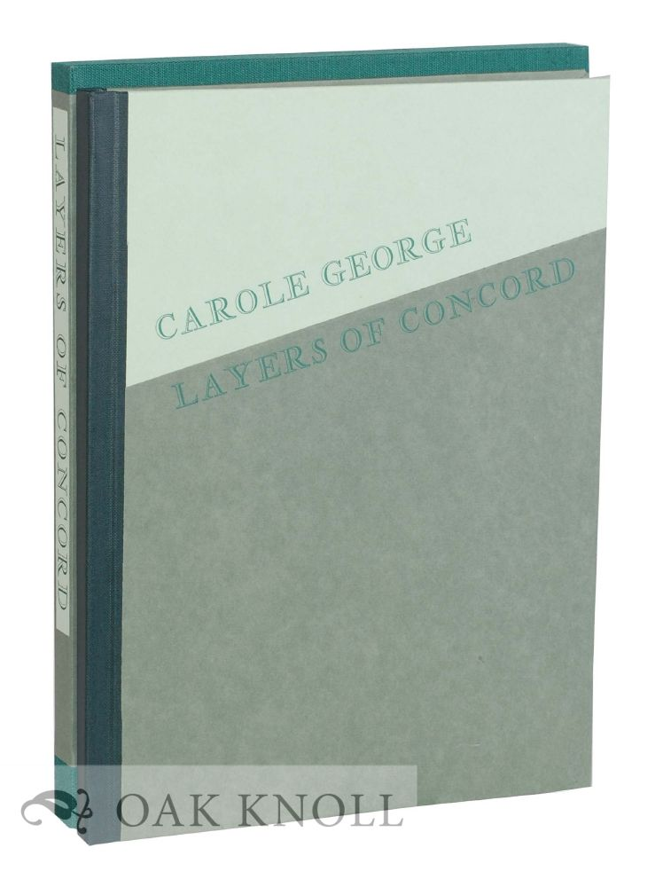 LAYERS OF CONCORD: CREATING THE LANDSCAPE GARDEN OF LE BERCEAU. Carole George.