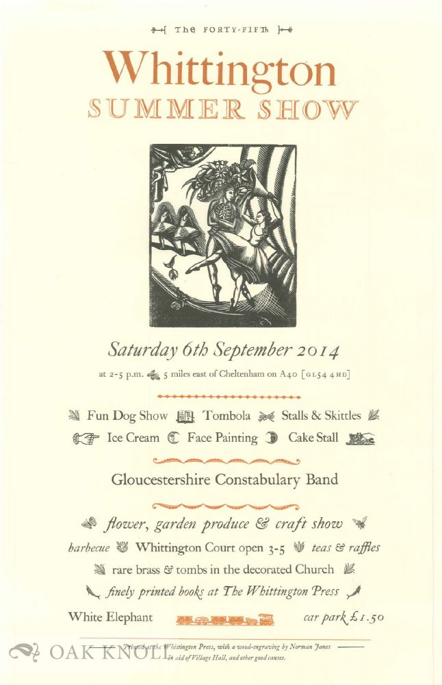 THE FORTY-FIFTH WHITTINGTON SUMMER SHOW.