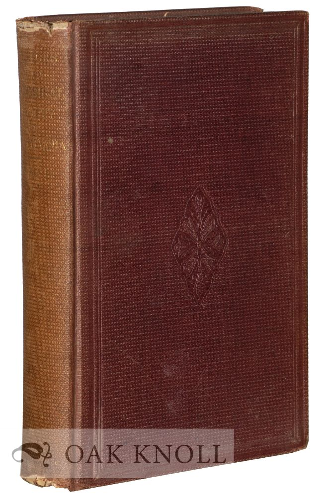 MEMOIRS OF THE HISTORICAL SOCIETY OF PENNSYLVANIA. Edward Armstrong.