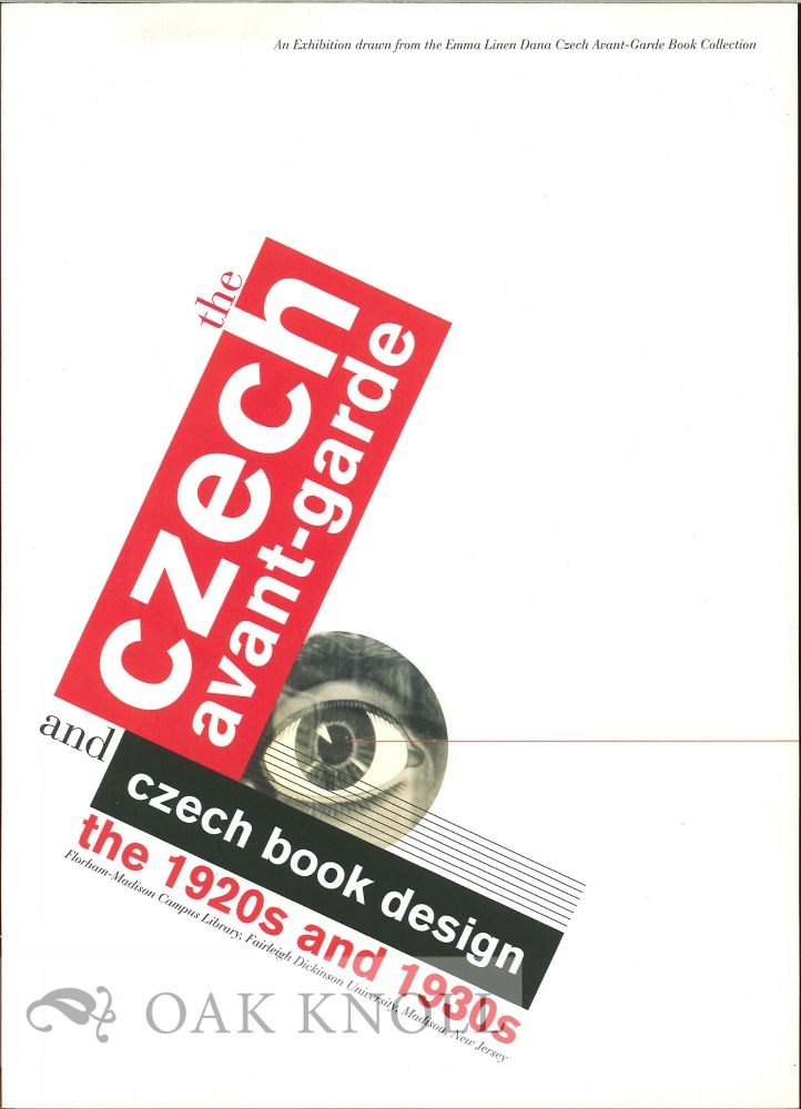 The Czech Avant Garde And Czech Book Design The 1920s And 1930