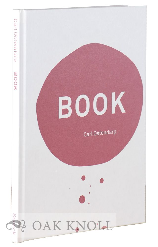 BOOK. Carl Ostendarp.