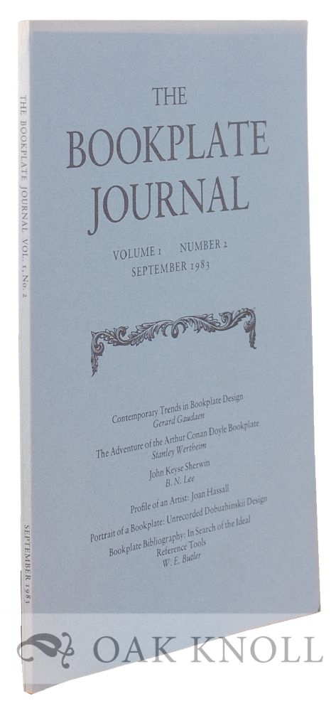 THE BOOKPLATE JOURNAL.